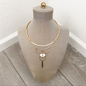 Mondrain Collar Necklace